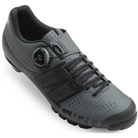 Giro Code Techlace Shoes Men dark shadow/black